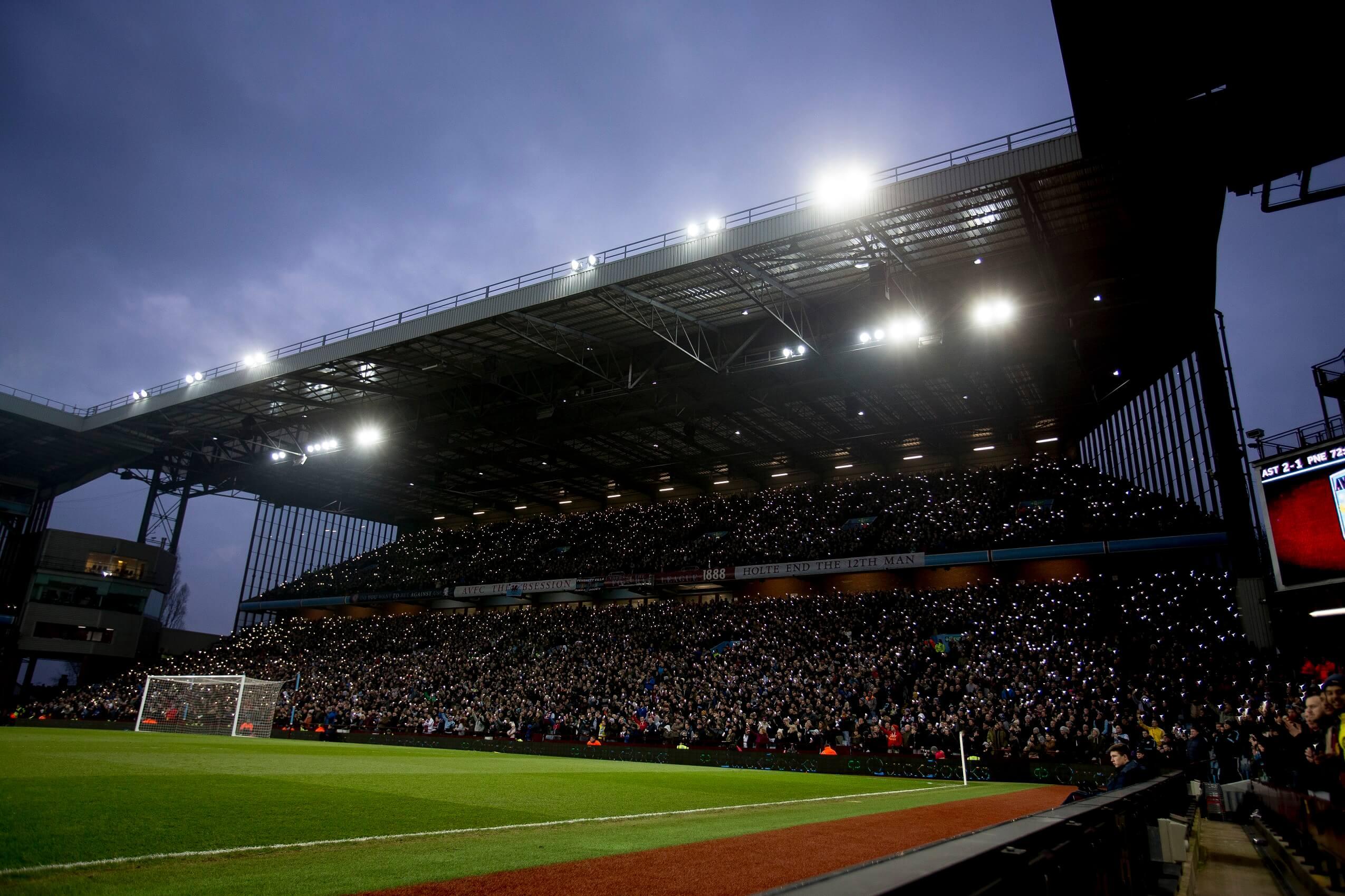 Aston Villa S Stadium Energyworld
