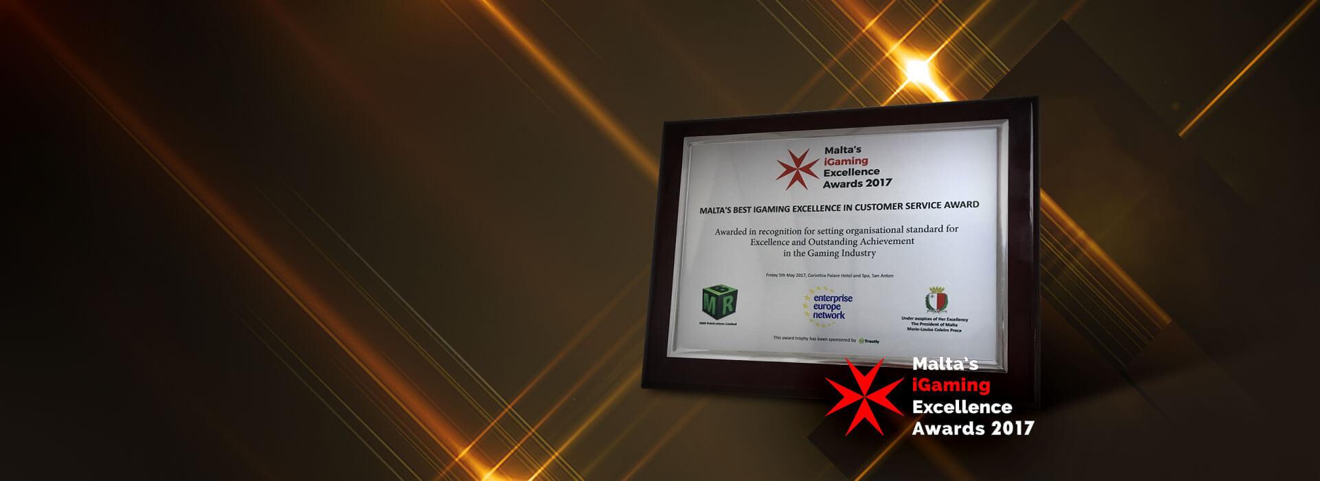 EnergyBet Scoops Another Award