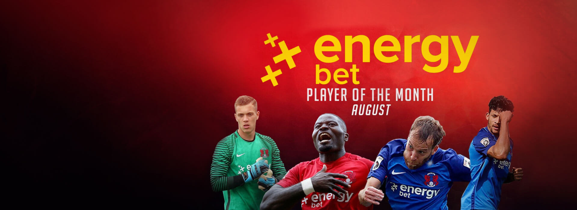 Leyton Orient, EnergyBet Player of the Month