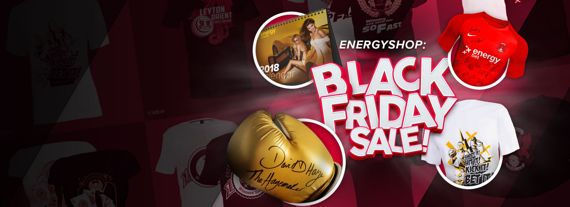 Black Friday: Up to 50% Off at the EnergyShop