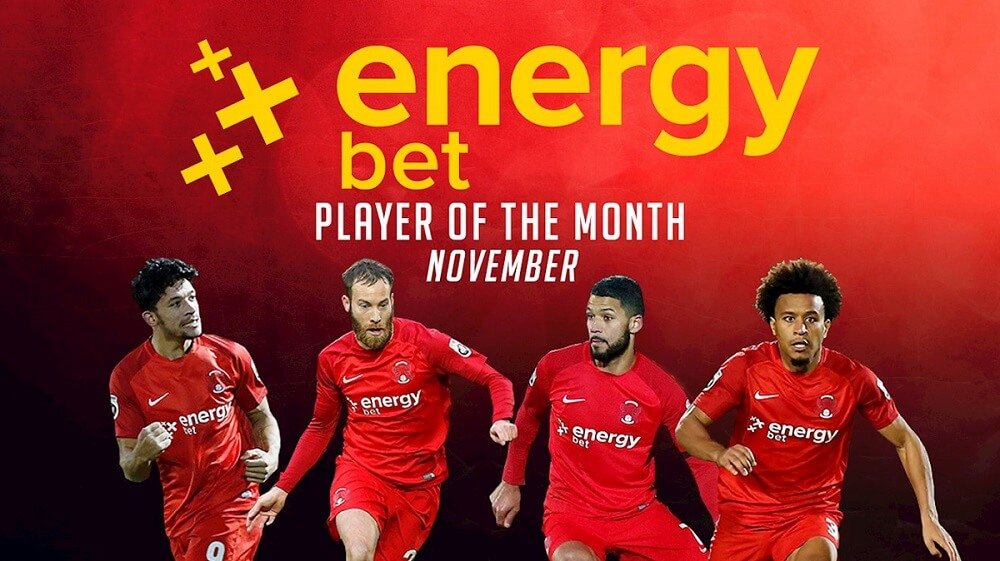 ENERGYBET PLAYER OF THE MONTH – November 2017
