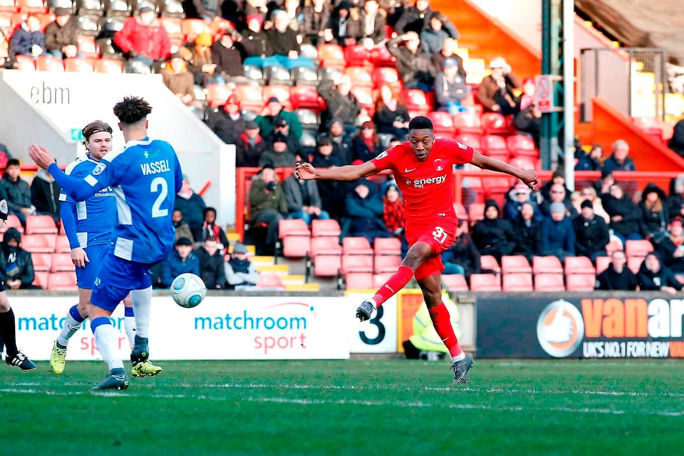 Gateshead And Orient In Thrilling Draw