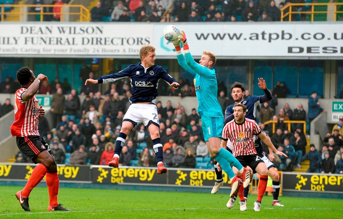 Hutchinson Goal Saves Millwall's Blushes