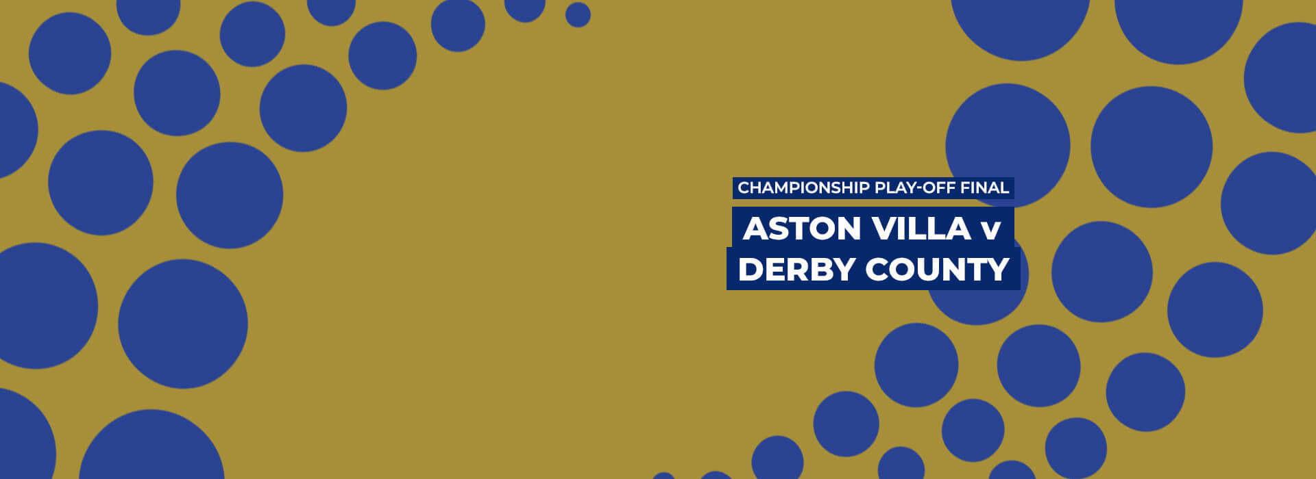 Aston Villa vs Derby County: Championship Play-off Final Betting Preview